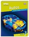 memo Wissen entdecken. Autos: Zylinder, Spoiler, Kühlergrill. Das Buch mit Poster!