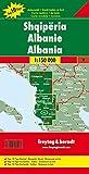 Albanien, Autokarte 1:150 - 000, Top 10 Tips, freytag & berndt Auto + Freizeitkarten - Freytag-Berndt und Artaria KG