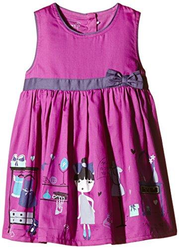 name it, Mädchen Kleid, nitNova, purple Orchid (92) Orchid Print Dress