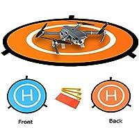 Hensych® Mini héliport de piste pliable pour DJI Mavic Pro Drone / DJI Spark /DJI Phantom 2/3/4 Inspire - Élargissez diamètre 75cm, 29cm plié diamètre