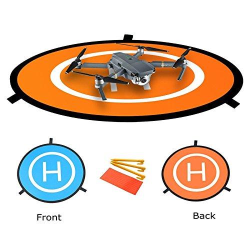 Hensych Mini héliport de piste pliable pour DJI Mavic Pro Drone / DJI Spark...