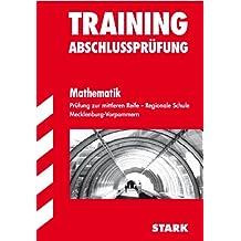 Training Abschlussprüfung Realschule Mecklenburg-Vorpommern: Training Abschlussprüfung Reg. Schule Mathematik Mecklenburg-Vorpommern