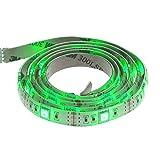 Smartfox LED Strip Leuchtstreifen Lichtband Leuchte Deko 50cm batteriebetrieben selbstklebend in grün