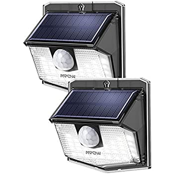 Mpow 30 Led Solar Lights Outdoor Motion Sensor Solar