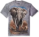 The Mountain T-Shirt African Elephant, Grau, S