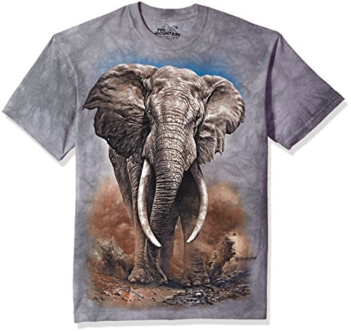 The Mountain Herren African Elephant T-Shirt, grau, XX-Large -