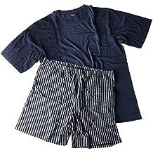 Hombre Pijama Shorty Camiseta con pantalones cortos para muñeco de los Ricos en 2Variaciones tamaños XXL–5x l