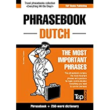 English-Dutch phrasebook and 250-word mini dictionary (English Edition)