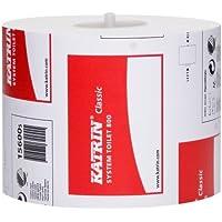 Katrin 94,6L.- Aa021 Classic System Rouleau de papier toilette, 2plis, 800feuilles, Blanc