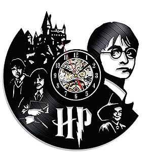 Gullei.com - Reloj de vinilo para dormitorio o pared, diseño de Harry Potter 1