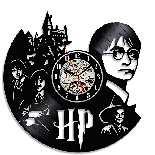 Reloj vinilo cámara pared Décor Regalo Fans Harry
