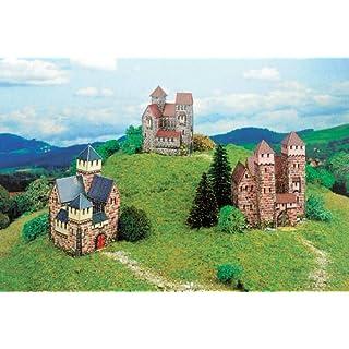 Aue-Verlag 5 x 5 x 8 cm Castles Model Kit (Small, 3-Piece)