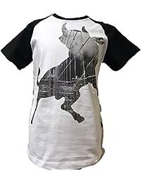 Lois 45049. Camiseta Manga Corta Blanca y Negra Talla 10 Años …