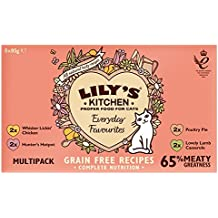 Lily's Kitchen Natural Wet Cat Food, 85 g, Pack of 32