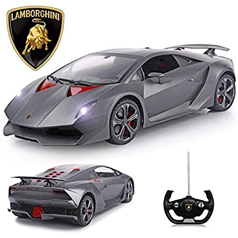 Official Licensed CM-2137 1:14 Lamborghini Sesto Elemento® Radio Controlled RC Electric Car - Ready to Run EP