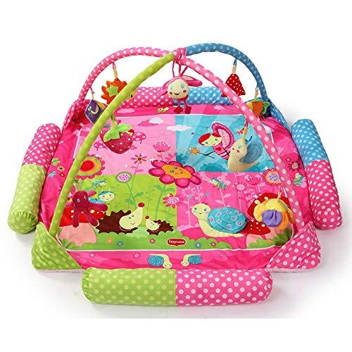 LGZW Baby-Krabbeldecke, Kinder-Trainingsmatte Schlaf Wattepad Anti-Rutsch-Teppich, Kinder-Früherziehung Teppich Gehirn Entwicklung Spielzeugmatte