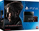 Console PS4 500 Go Noire + Metal Gear Solid V : The Phantom Pain - [Edizione: Francia]