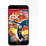 3 x atFoliX Anti-Choque Lámina Protectora de Pantalla Meizu MX4 Pro Antichoque Película Protectora - FX-Shock-Antireflex