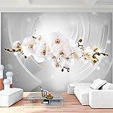Fototapete Blumen Orchidee 396 x 280 cm Vlies Wand Tapete Wohnzimmer Schlafzimmer Büro Flur Dekoration Wandbilder XXL Moderne Wanddeko - 100% MADE IN GERMANY - Runa Tapeten 9235012b