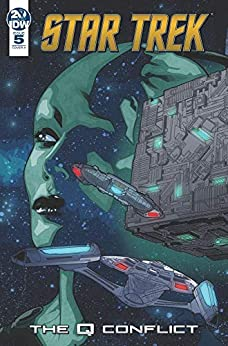Descargar Con Utorrent Star Trek: The Q Conflict #5 (of 6) Como PDF