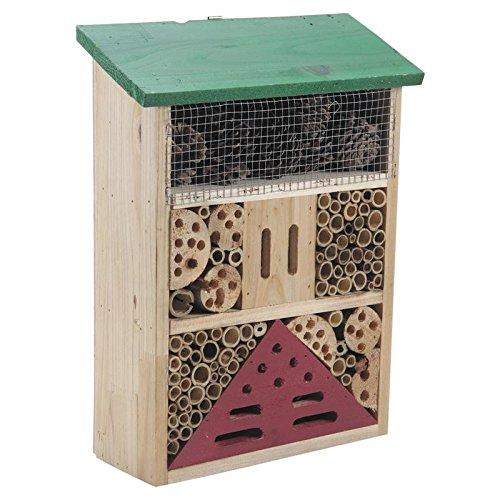 Maison hôtel à insectes en bois et bambou