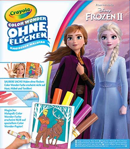 CRAYOLA 256696 Color Wonder-Frozen 2, bunt