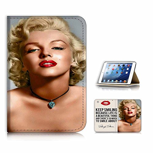 eneration 4) Flip Case Cover & Displayschutzfolie Bundle - a21327 Marilyn Monroe Young ()