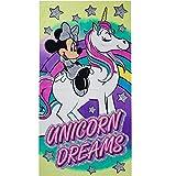 Licorne Drap de Plage Minnie Serviette de Bain Mickey Disney Coton