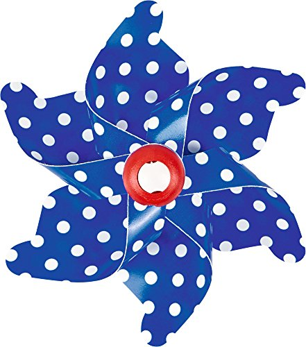 drad Windmühle für Fahrradlenker (blau) (Blaue Windräder)