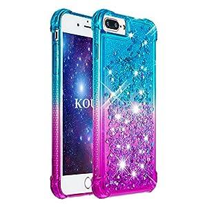 KOUYI iPhone 8/iPhone 7 Hülle [Quicksand-Serie]