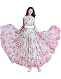 Exclusive Fashion Women's Georgette Dress Material (19_White_Free Size)