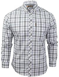 Ben Sherman - Camisa casual - Cuadrados - con botones - Manga Larga - para hombre