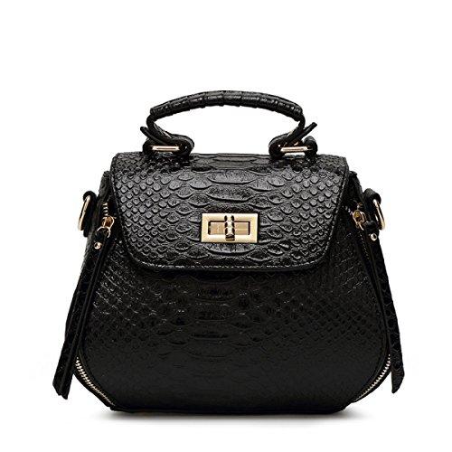 Art Und Weise Beiläufige Schulter-diagonale Handtasche,Pink Black