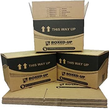 15 Large Cardboard House Moving Removal Packing Boxes