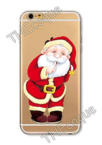 Coque RIGIDE de qualite IPHONE 6/6s PLUS - Joyeux Noel christmas cadeaux hiver drole design Swag motif 6 DESIGN case+ Film de protection OFFERT 1