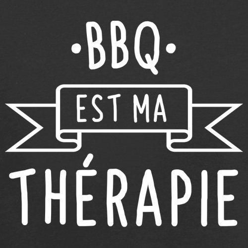 Le BBQ est ma thérapie - Femme T-Shirt - 14 couleur Noir