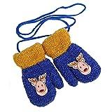 Fäustlinge Kinder, outgeek handschuhe kinder baby faustlinge niedliche Bären stricken warme Winter.
