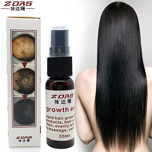 Generic free delivery sunburst hair growth yuda hair growing spray 20ml 7 days fast hair growth regrowth treatment hair loss product oil