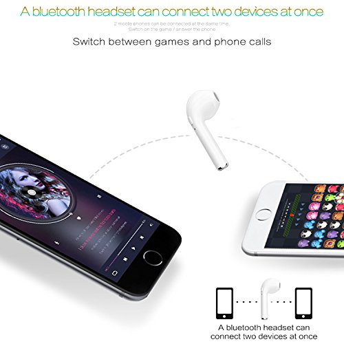 Parnerme Auricolare Mini Bluetooth 4.1 In-Ear