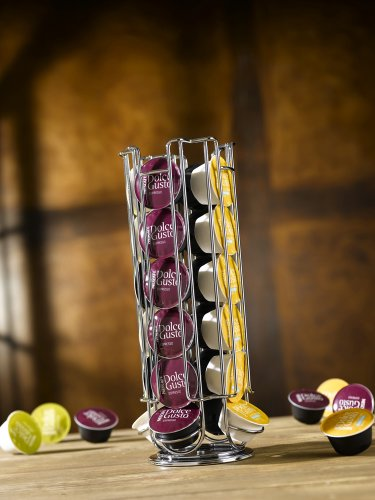 "Tavola Swiss ""Parco"" Capsule Dispenser for 24 Dolce Gusto Capsules, Multi-Colour"