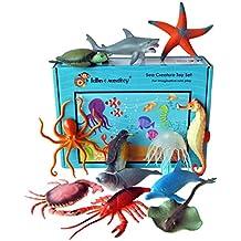 Figuras marina animal - caja de 12