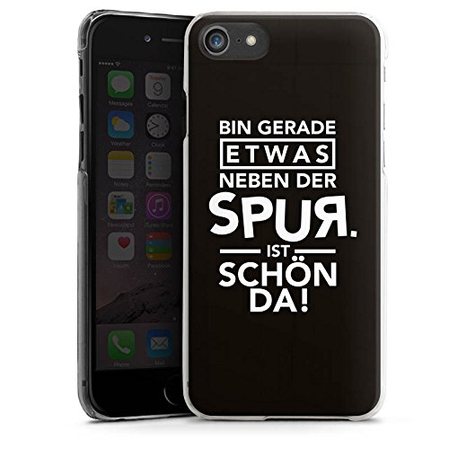 Apple iPhone X Silikon Hülle Case Schutzhülle Party Feiern Sprüche Hard Case transparent