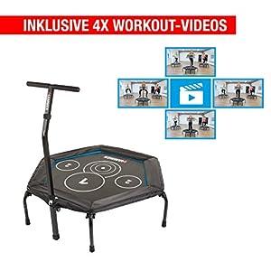 Hammer Fitness-Trampolin Cross Jump, 98 cm Sprungfläche, leistungsstark bis 130 kg Benutzergewicht