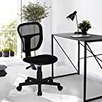 Study Chair Fanilife Office Chair Adjustable Design Swivel Kids Children Computer Seat Desk Task Chair