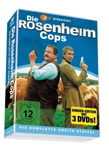 Die Rosenheim Cops - Die komplette 2. Staffel auf 3 DVDs [Special Edition]