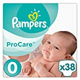 Pampers ProCare Premium Protection Taille 0 (1-2,5kg) Couches par 38