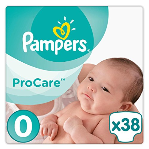 Pampers Procare 38 Couches Taille 0 (1,5-2 kg)