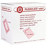 Noba Rudavlies, steriles Verbandpflaster, Wundverband, Pflaster, 10x8cm, 50 St
