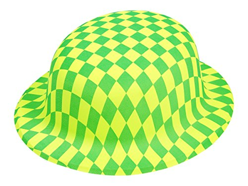 Cooler Partyhut als Trilby- oder Melonenhut, wählen:P-33 Melone grün ()