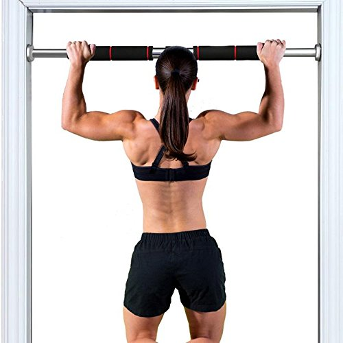 ASkyl Heavy Duty Chin Up and Pull up Bar wall mount - Home Gym Adjustable Door Frame Pull Up Bar
